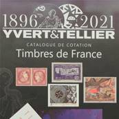 Catalogue de cotation des Timbres de France 2021 Yvert & Tellier 135111