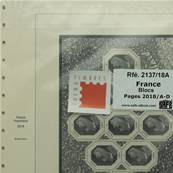 Feuille France blocs 2018 SAFE DUAL 2137-18A