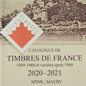 Catalogue de Timbres de France Spink Maury 2020 123eme édition