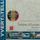 Catalogue des Timbres Europe vol1 Albanie à Bulgarie 2018 Yvert