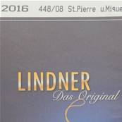Complement Saint Pierre et Miquelon 2016 Lindner T448/08-2016