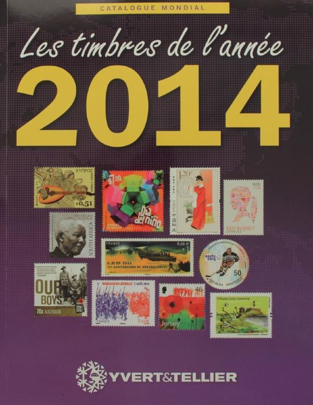 timbres de l 39 ann e 2014 yvert et tellier catalogue mondial. Black Bedroom Furniture Sets. Home Design Ideas