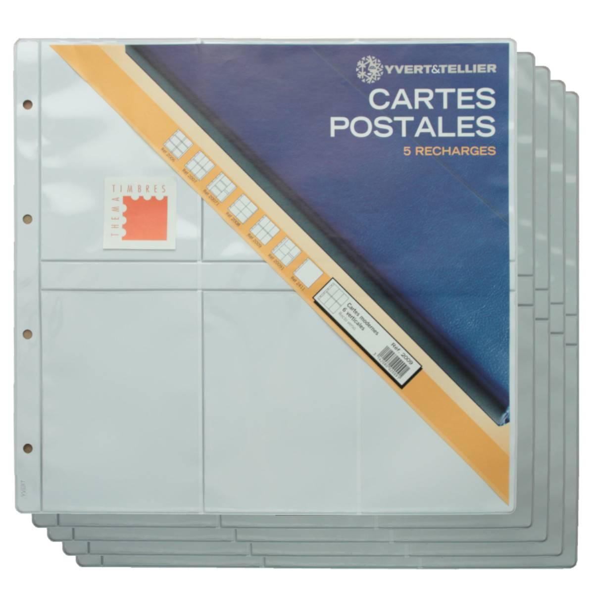 Album Luxe garni pour Cartes Postales Modernes Noir Yvert 20054
