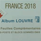 Feuilles France 2018 Album Louvre Edition Ceres FF18