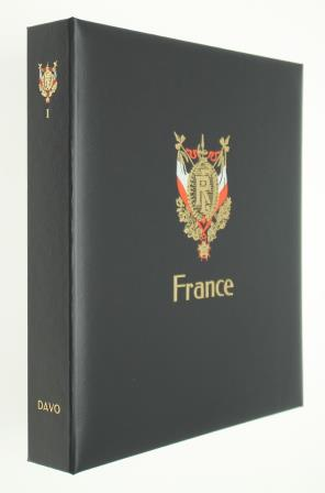 Album Luxe France I (1) 1849 à 1949 DAVO 3731