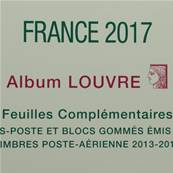 Feuilles France 2017 Album Louvre Edition Ceres FF17