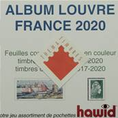 Feuilles France 2020 Album Louvre Edition Ceres FF20