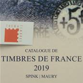 Catalogue de Timbres de France Spink Maury 2019 122eme édition