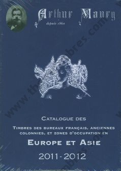 Catalogue des Timbres Europe et Asie Maury Ceres Dallay 2011 2012