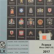 Feuille 33 Luxe Blocs CNEP 2017 France DAVO 13657
