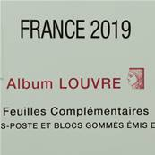 Feuilles France 2019 Album Louvre Edition Ceres FF19