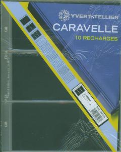 10 recharges caravelle 3 poches Yvert et Tellier 26023